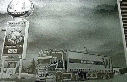 zandstraal truck